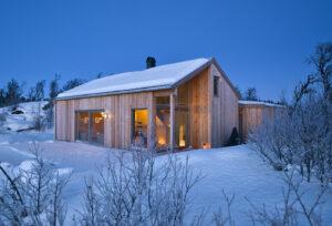 Moderne hytte - Skarvhytta